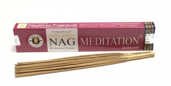 """Räucherstäbchen """"Golden Nag - Meditation"""""""