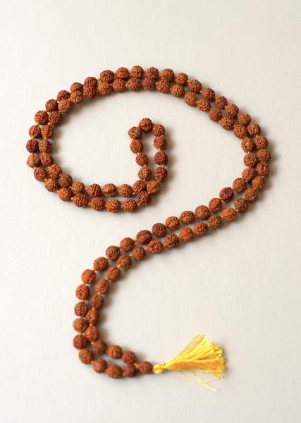 Guru Mala aus Rudraksha-Perlen