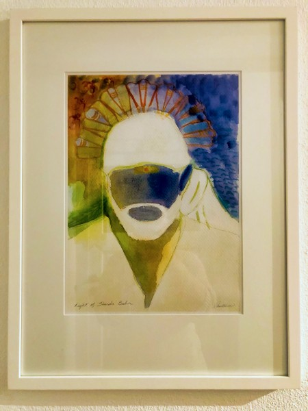Light of Baba - Aquarell (Fine Art Print)