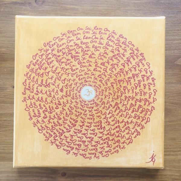 Mantra Art - Om Sai Ram