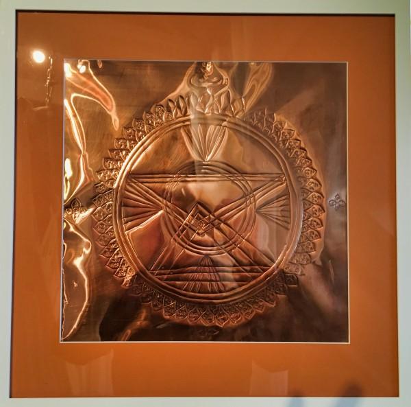 Sri Chakra Yantra Kraftobjekt