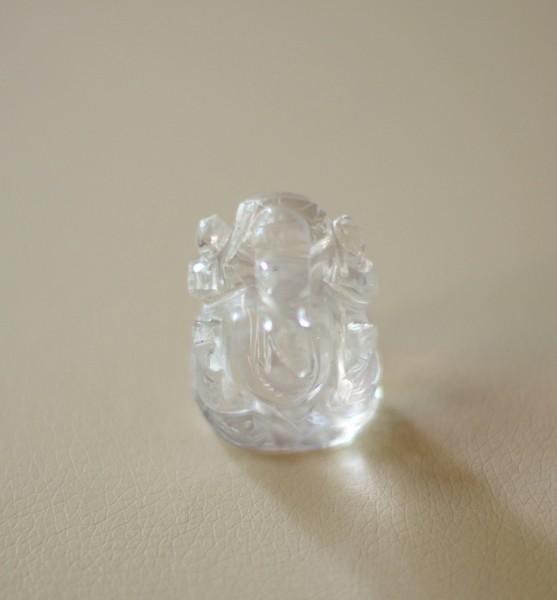 Ganesha aus Bergkristall